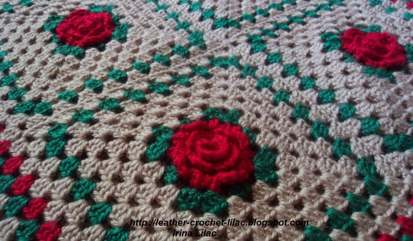 Crochet and knitting from irina lilac crochet home decor for Crochet decorations for home
