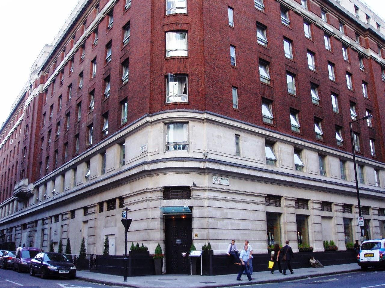 Cumberland Hotel London Email Addreb