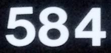 NumberADay: 584
