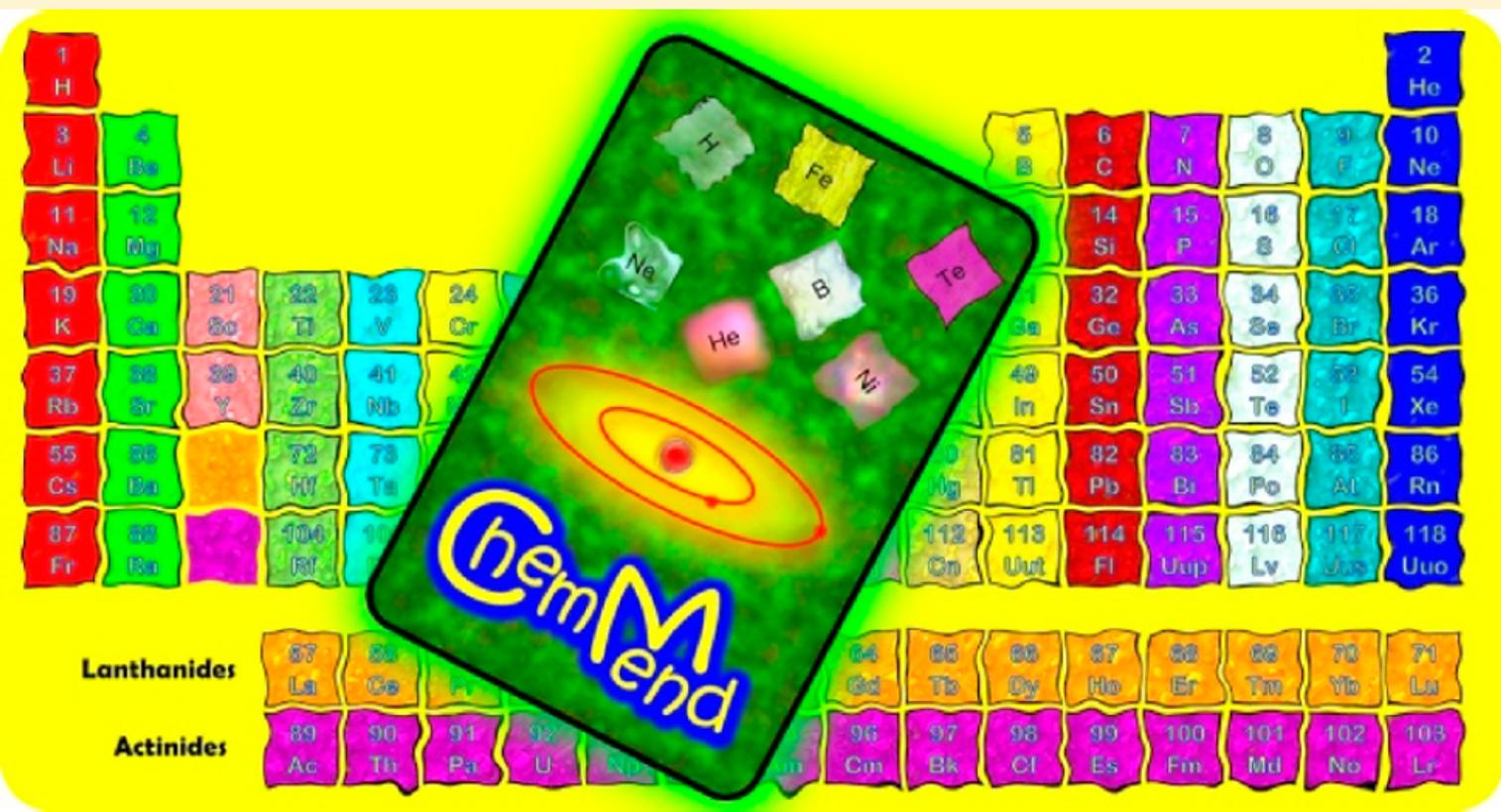 Aprender a ensear qumica chemmend introduce y explora la tabla chemmend introduce y explora la tabla peridica en el aula urtaz Gallery