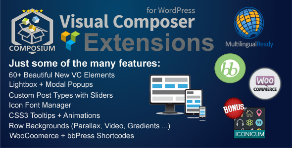 Visual Composer extension free