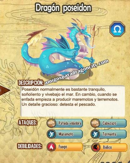 imagen del dragon poseidon y sus caracteristicas