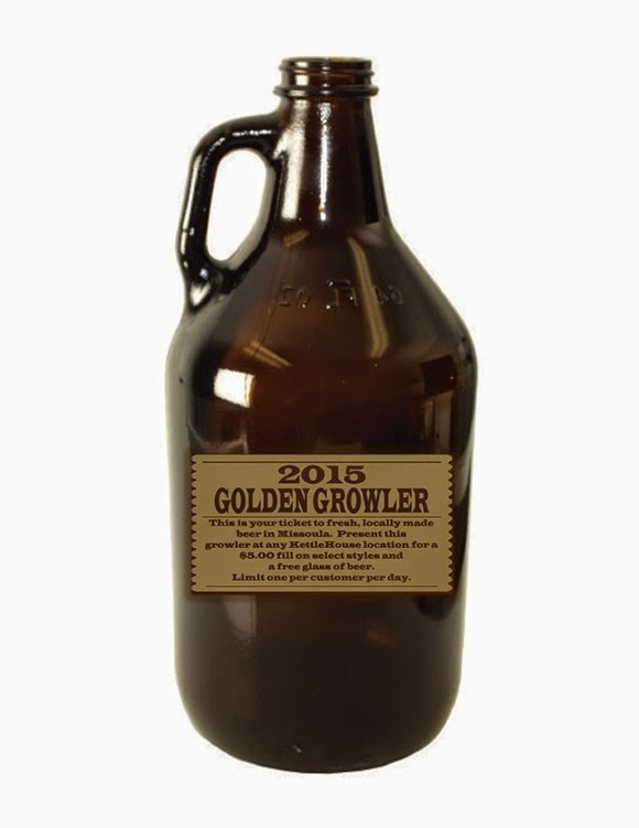 Kettlehouse Golden Growler 2015