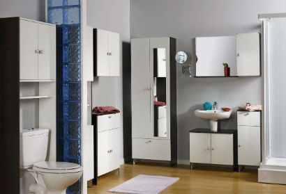 bathroom furniture storage design