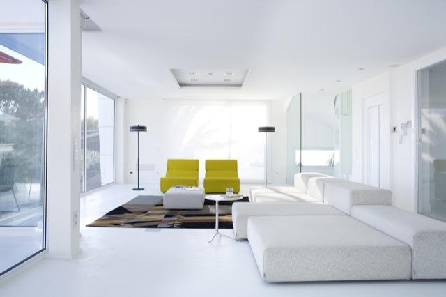 Una casa de dise o minimalista minimal design house - Casas minimalistas por dentro ...