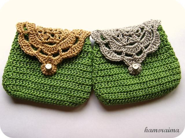 Monederos de crochet 4 hamoraima for Monedero ganchillo boquilla ovalada