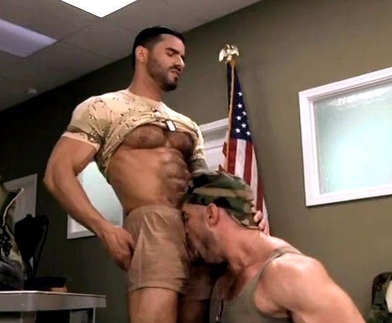 uniform men Gay muscle in
