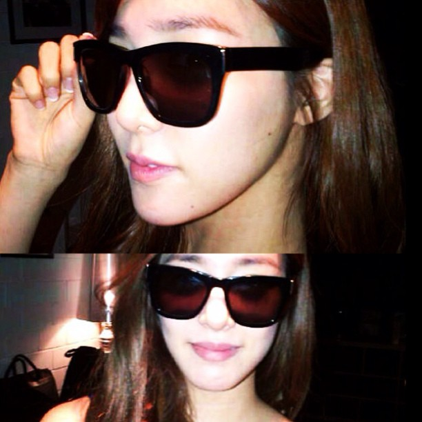 [Sponsored Picture] 130511 Tiffany for 'Reve' by Rene Sunglasses