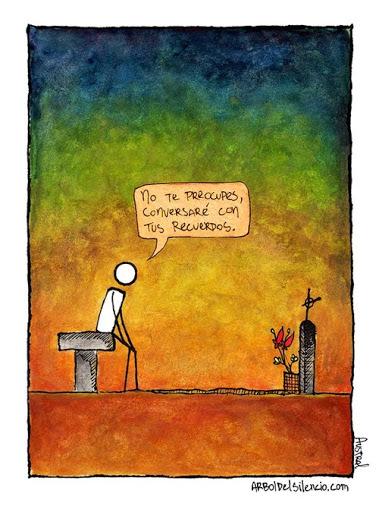 Todo se comparte en la vida, menos la soledad.......