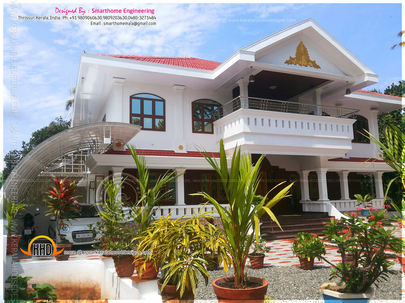 House design collection - Completed House In Thrissur Kerala