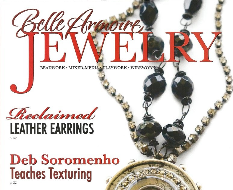 Belle Armoire Jewelry Magazine 3 Back Issues Jewelry Making Metals Beads Like Ne
