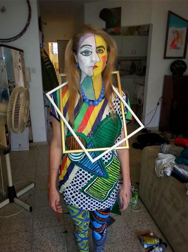 Picasso Costume Purim 2014