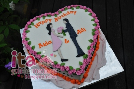 Gula Dan Mentega: Surprise Birthday Cake for Adiputra & wife