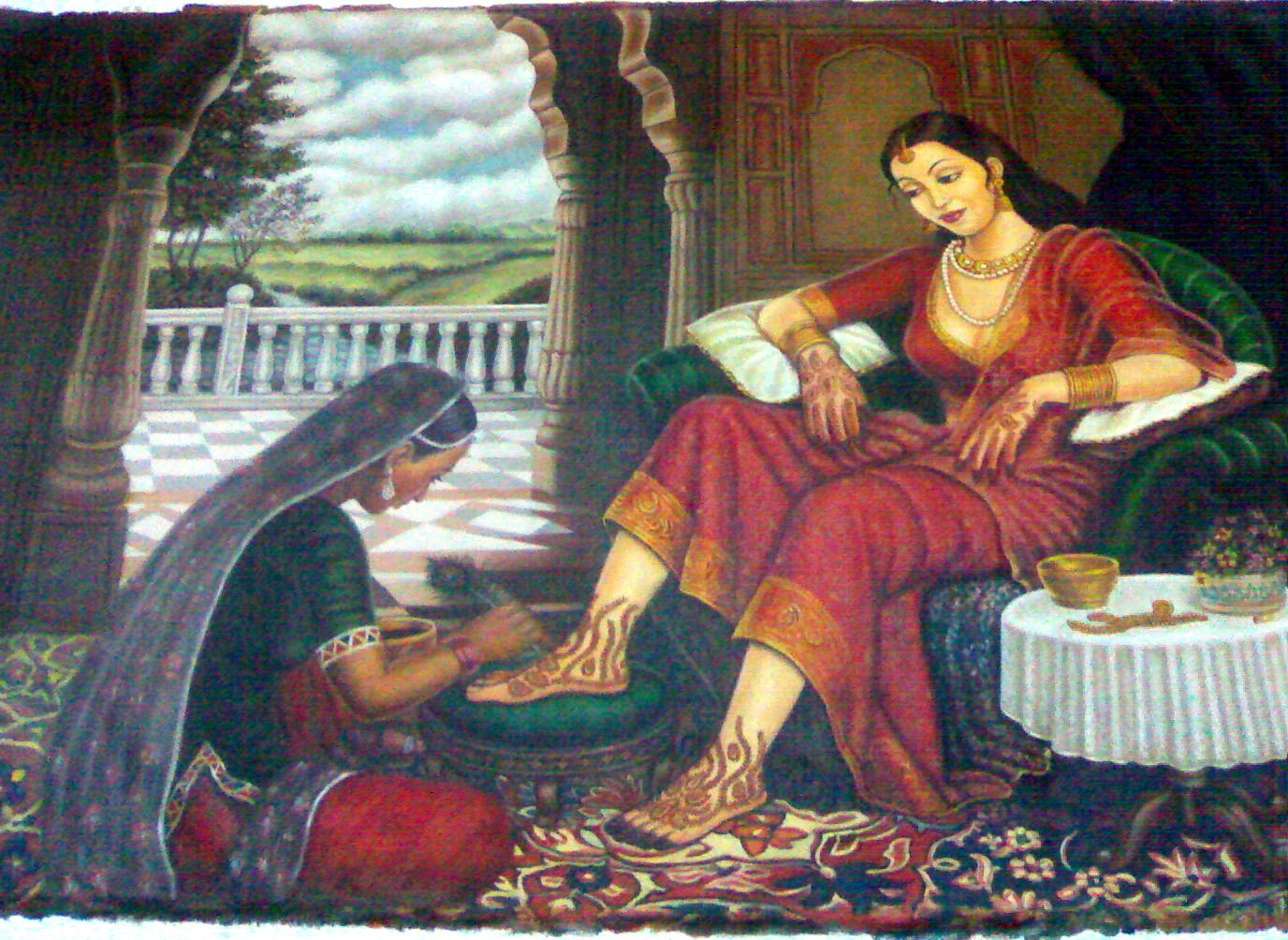 Indian traditional painting high resolution pictures for Best mural paint