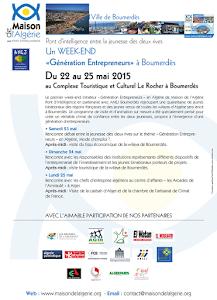 """Premier week-end initiateur """"Génération Entrepreneurs"""" en Algérie"""
