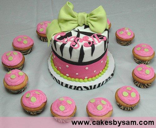 Lindos Modelos de Tortas con Cupcakes | Arcos con Globos - Decoración ...