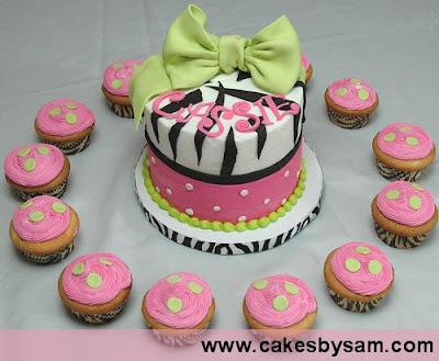 Lindos Modelos de Tortas con Cupcakes
