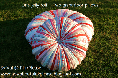 http://www.modabakeshop.com/2011/07/jelly-roll-floor-pillows.html