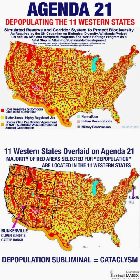Holy Roman Catholic Church Vs Vatican Council II March - Agenda 21 map of us
