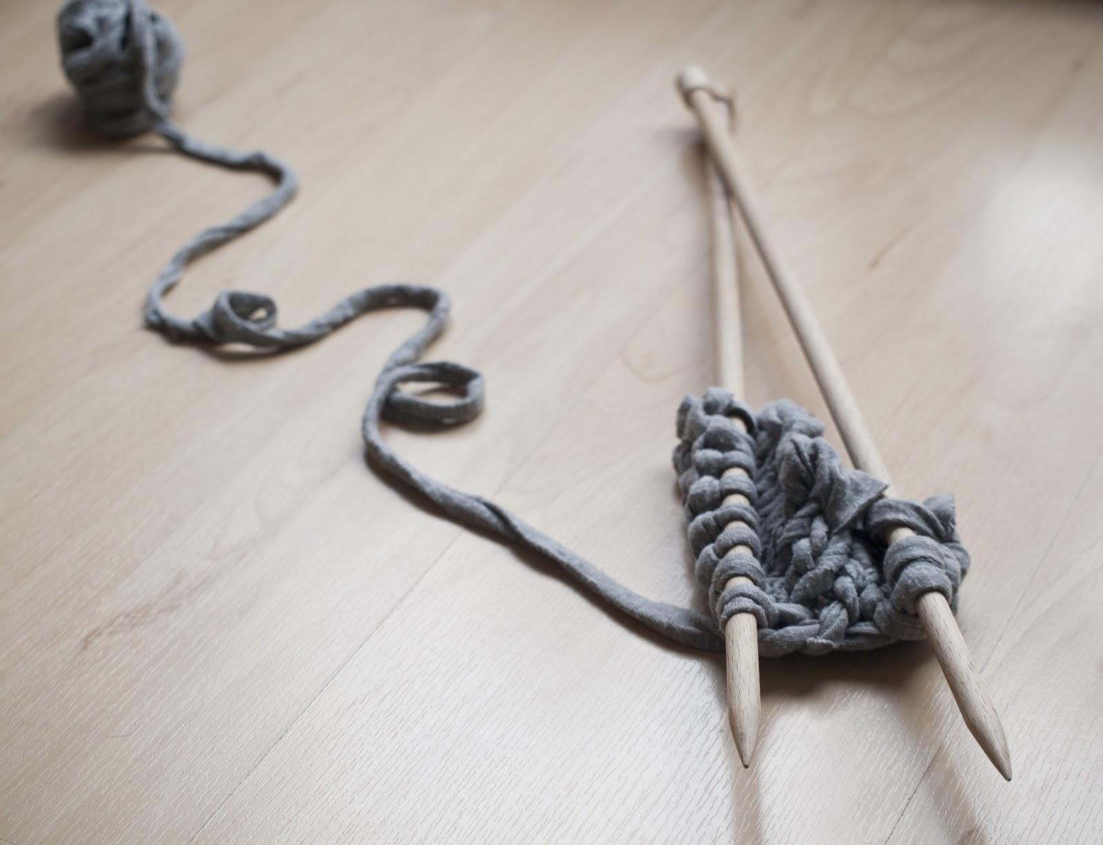 Puntobobo agujas de madera artesanales para tejer octubre - Tejer con trapillo ...