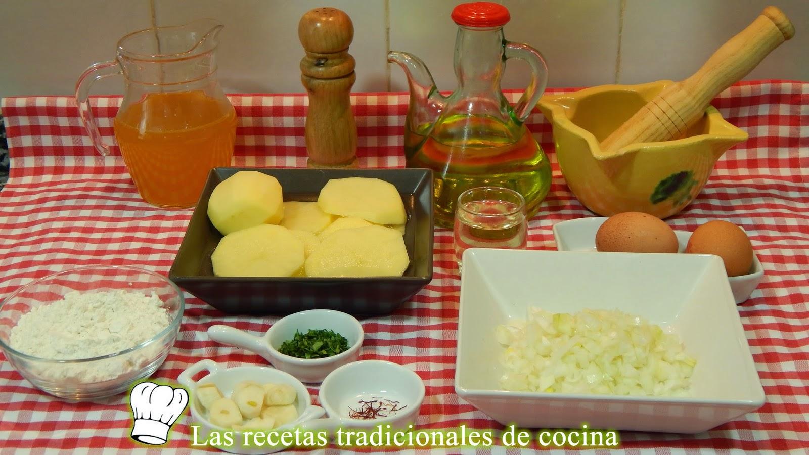 Receta fácil de patatas a la importancia
