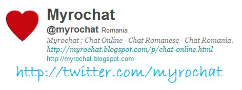 Carte de Vizita : Twitter Myrochat