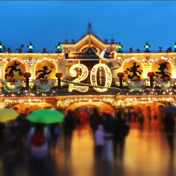 Disneyland Parigi billet francilien
