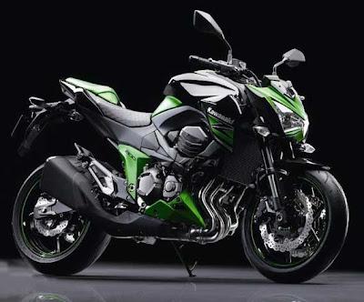 Motor Kawasaki Terbaru 2013
