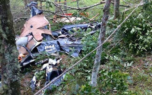 Noiva morre em acidente de helicóptero a caminho do casamento, 4 pessoas morreram no acidente