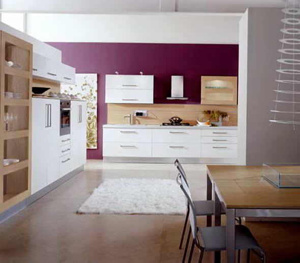 Purple Interior Designs Kitchen Interior Car Led Lights