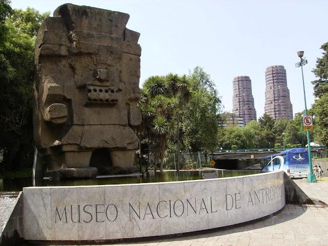 Museo Nacional Antropología, Ciudad México