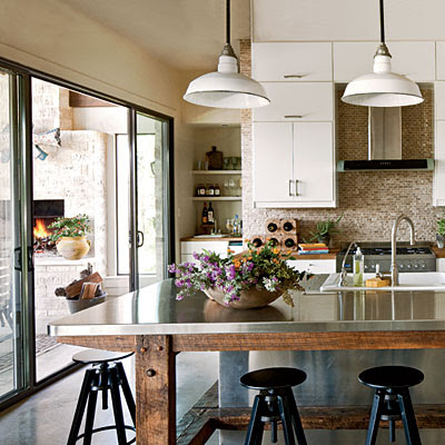 Country Industrial Kitchen