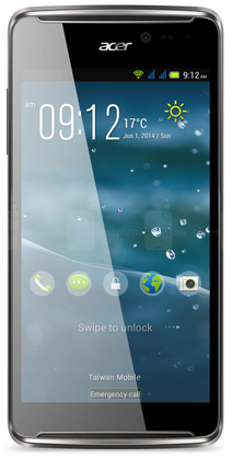 Acer Liquid E600 Android