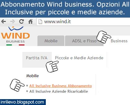 abbonamento wind business aziende