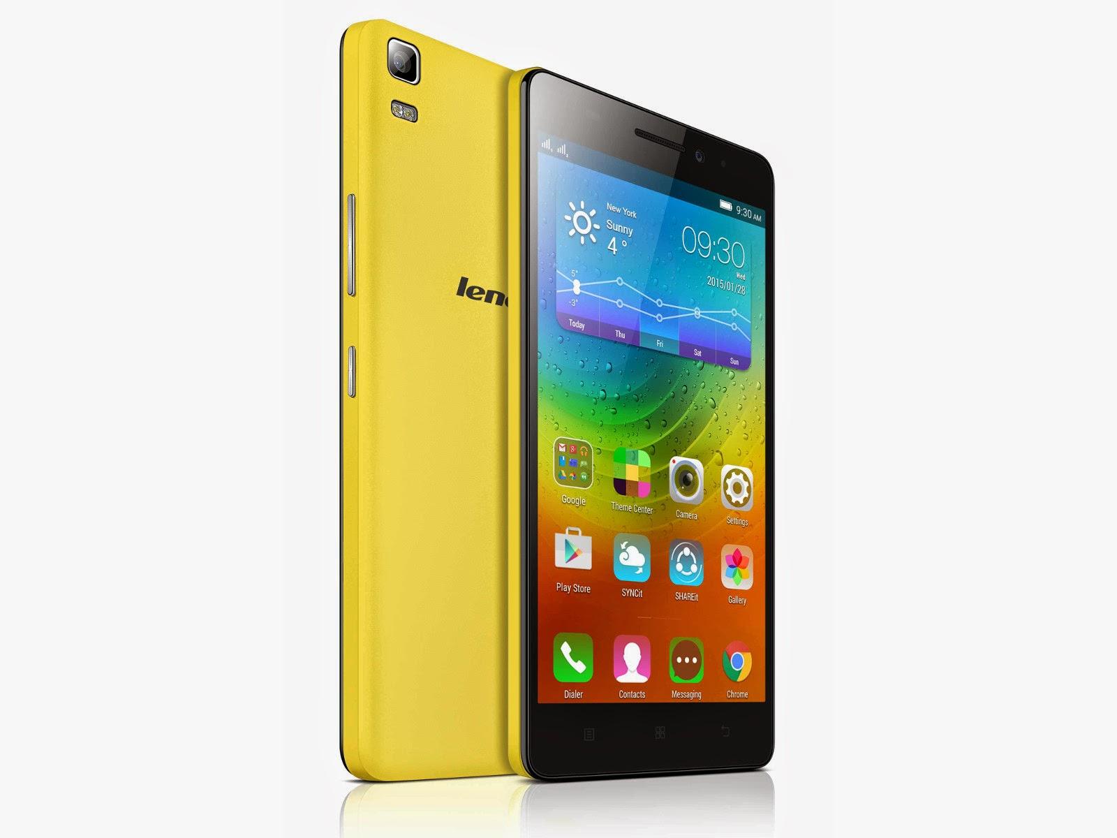 Lenovo A7000 Smartphone 4G LTE Dibandrol harga Rp 2,1 Juta