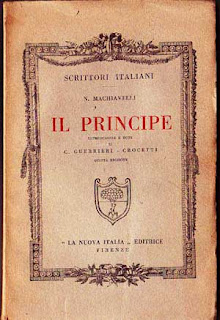 Il Principe Machiavelli old book