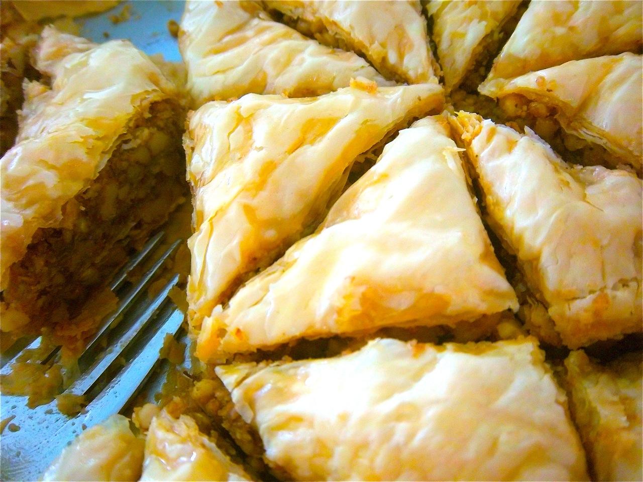 Recipe Greek Baklava Bonita Rose