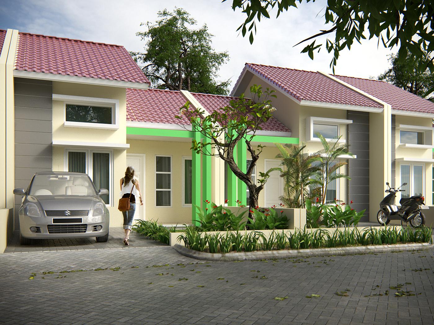 Desain Rumah Tipe 30 Green Besuki Residence Jasa Desain
