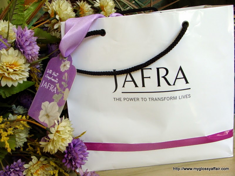 JAFRA's Pamper Party