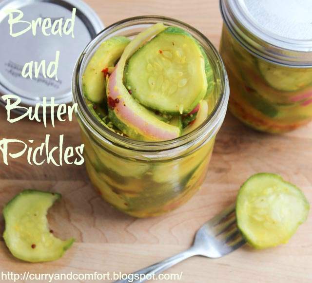 Kitchen Simmer: Spicy Garlicky Bread and Butter Pickles