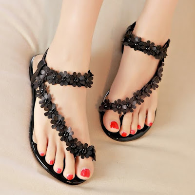 Cute flat sandals