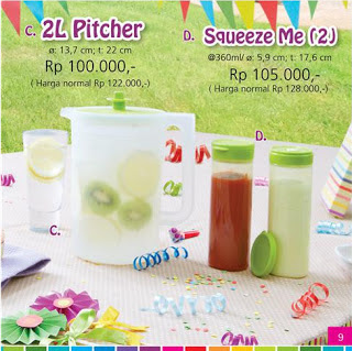 2L Tupperware Pitcher