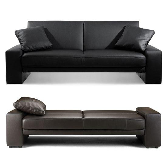 Click clack sofa bed sofa chair bed modern leather sofa bed ikea leather sofa bed - Ikea leather futon ...