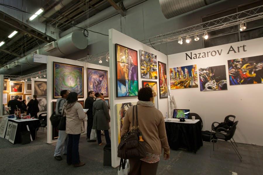 Art Expo New York 2014 Nazarov Art Vladimir Nazarov