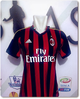 Jersey AC Milan Home - Toko Online Pekanbaru STerlaK.com