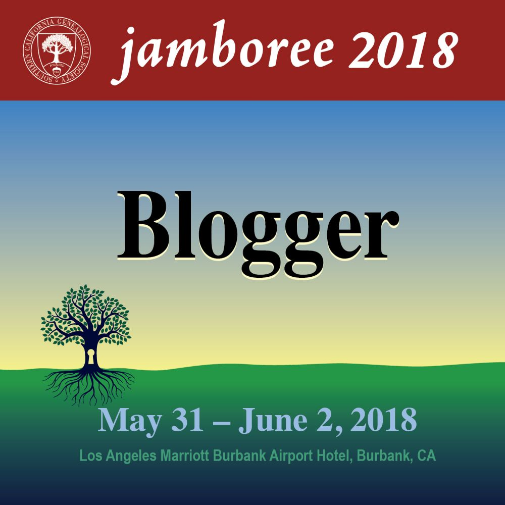 Southern California Genealogy Jamboree 2018