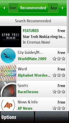 Nokia Ovi Store App Client