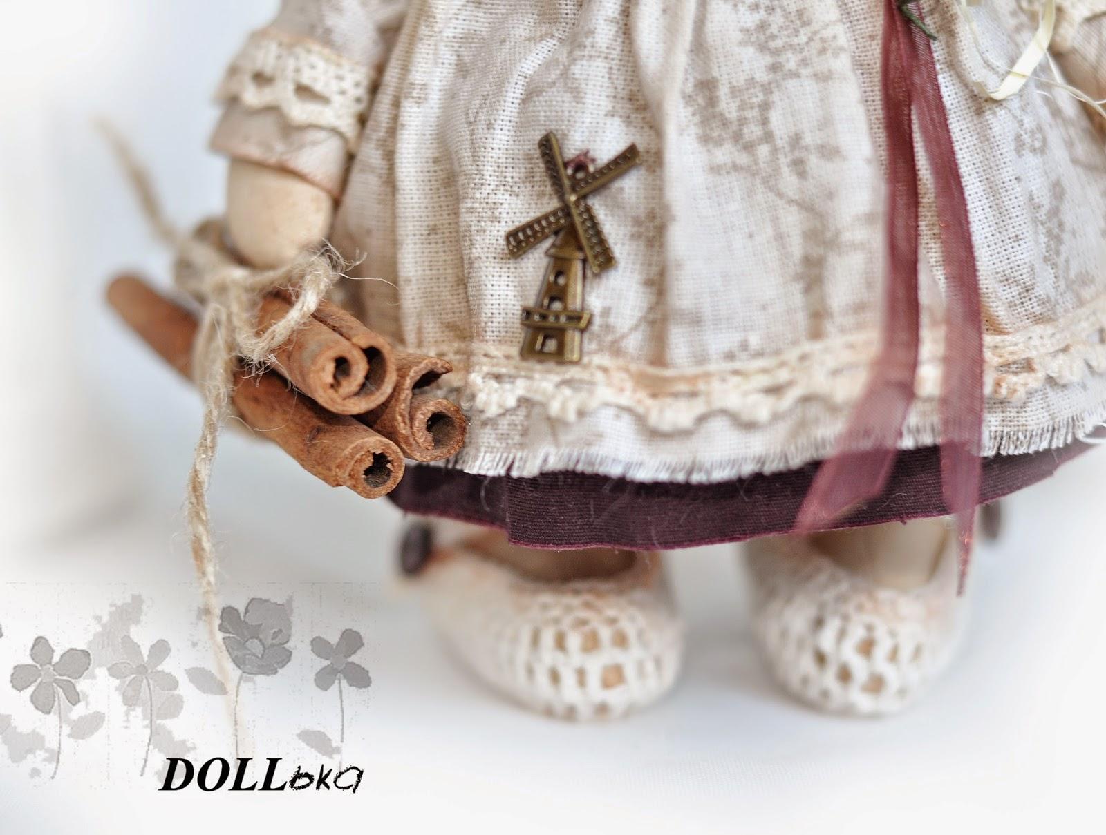 овечка текстильная игрушка ручной работы