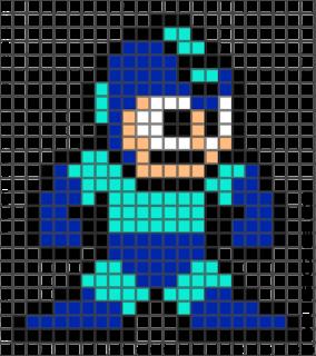 Megaman pixel art idea