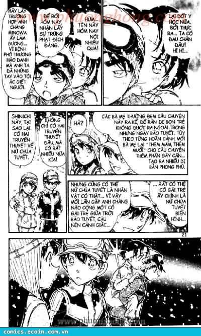 Detective Conan - Thám Tử Lừng Danh Conan chap 522 page 17 - IZTruyenTranh.com